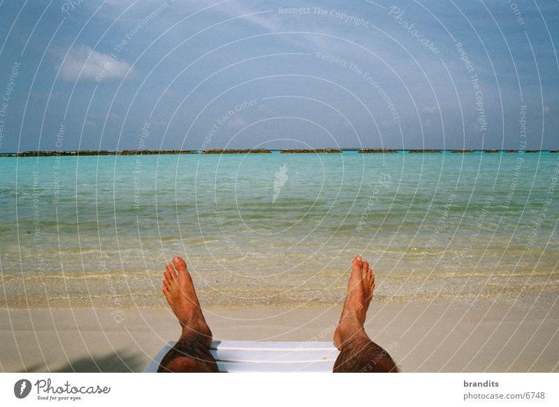 South Sea feet Caribbean Sea Ocean Vacation & Travel Gorgeous Sun Water Feet