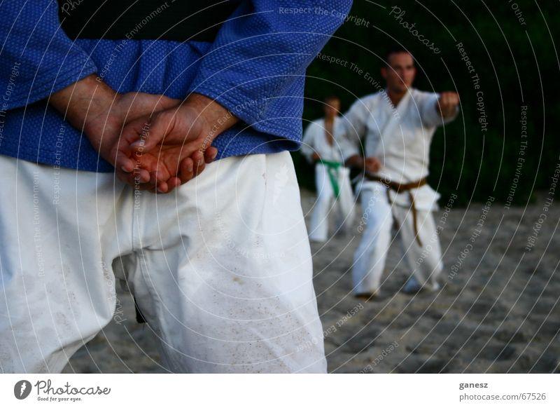 Beach Sports Sports Training Practice Martial arts Karate Master Budo Shotokan