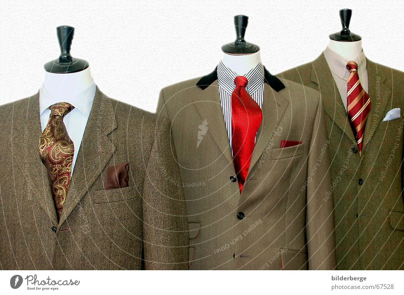 Green Red Black Work and employment Business Brown Concert Suit Luxury Shirt Tie Buttons Measure Headless Collar Tailor
