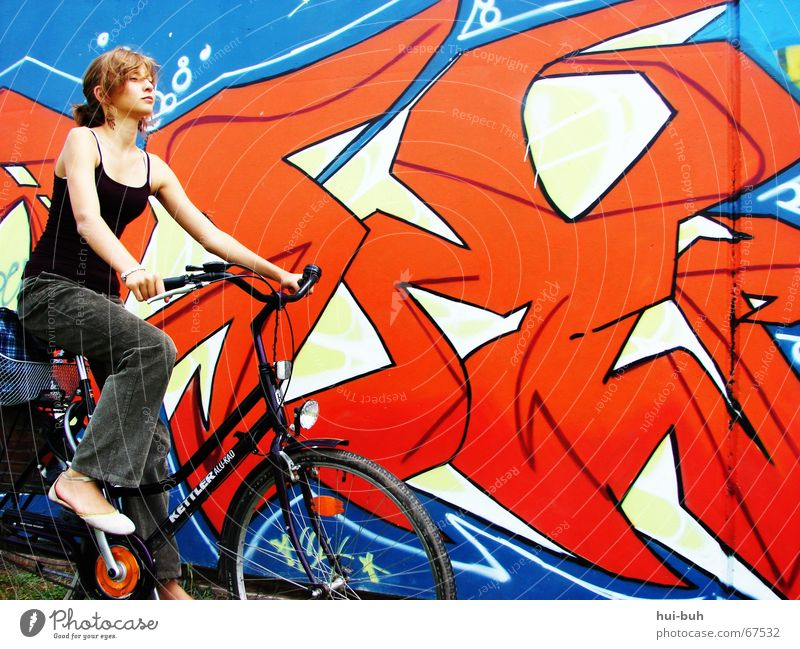 Blue Hand Red Colour Funny Footwear Bicycle Cool (slang) Driving Violet Pants Top Easygoing Motorcyclist