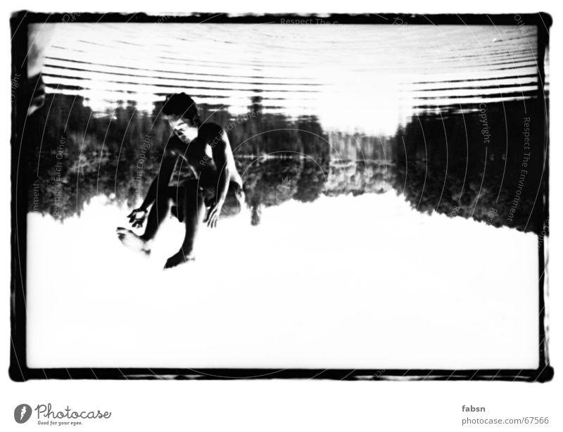 Sky Water Summer Black Jump Lake Swimming & Bathing Speed Gloomy Sunbathing Hover False Bleak Salto Sewer Whirlpool