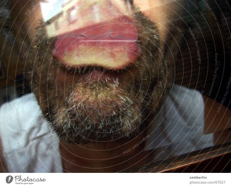 Glass Kissing Facial hair Chin Pane Stopper Upper lip Lower lip