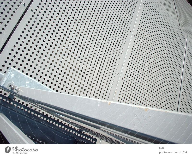 facade cladding Cladding Facade Pallid Plate with holes Architecture Mask Metal Handrail