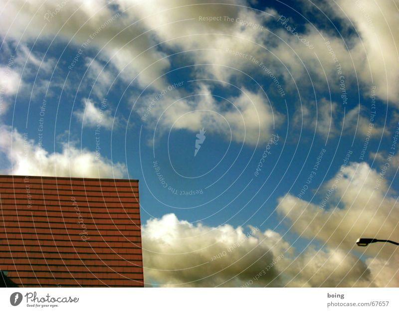 Blue Summer Clouds 3 Roof Brick Lantern Craft (trade) Roofer