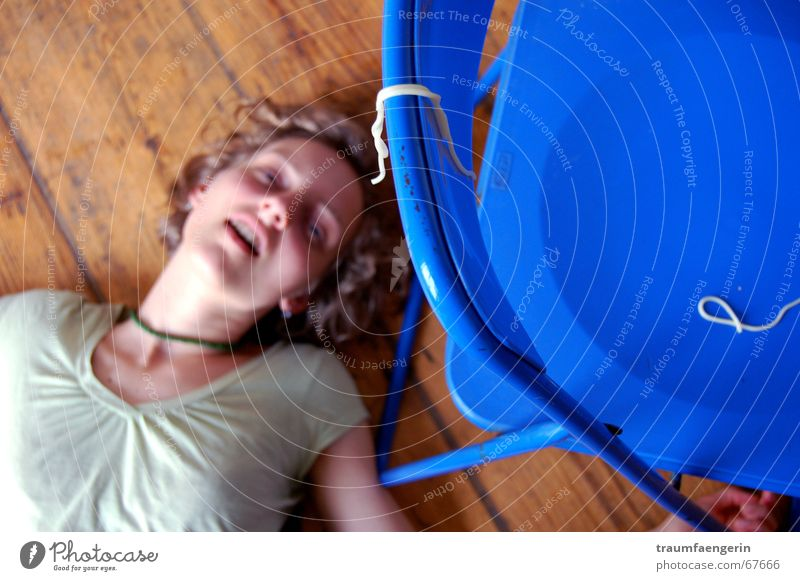 Blue Green Yellow Death Life Lanes & trails Blonde Mouth Empty Floor covering Chair Curl Past Noodles Wooden floor Spaghetti
