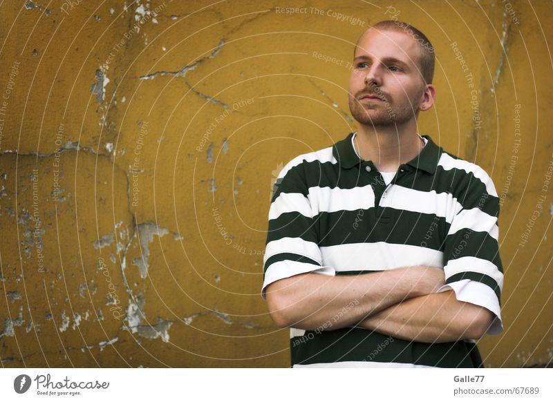 Roodini 2 Portrait photograph Interlock Facade Wait Arm Looking Observe Cool (slang) Old Contrast bile7