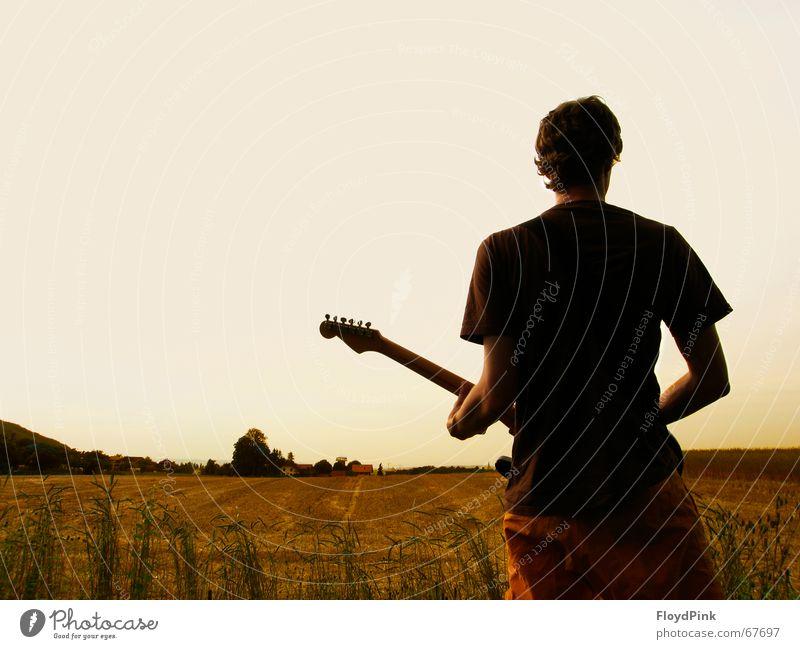Meadow Horizon Village Concert Rock music Musician Music Rocker Suburb