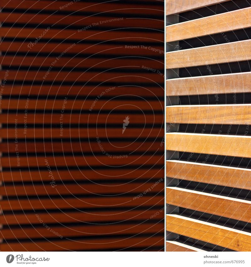 Wood in front of the hut Building Architecture Wall (barrier) Wall (building) Facade Wooden board Wood strip Line Living or residing Colour photo Subdued colour