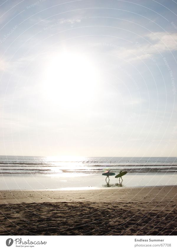 Water Sun Ocean Beach Vacation & Travel Relaxation Freedom Surfing Central America