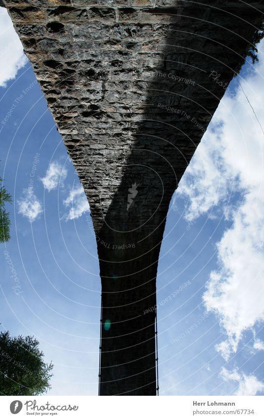 Sky Wall (barrier) Bridge Switzerland Canton Graubünden Rhatian trains