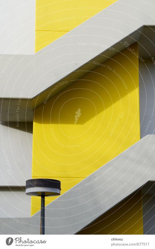 City Yellow Gray Lamp Facade Stairs Design Modern Illuminate High Rise  Concrete Cool (slang