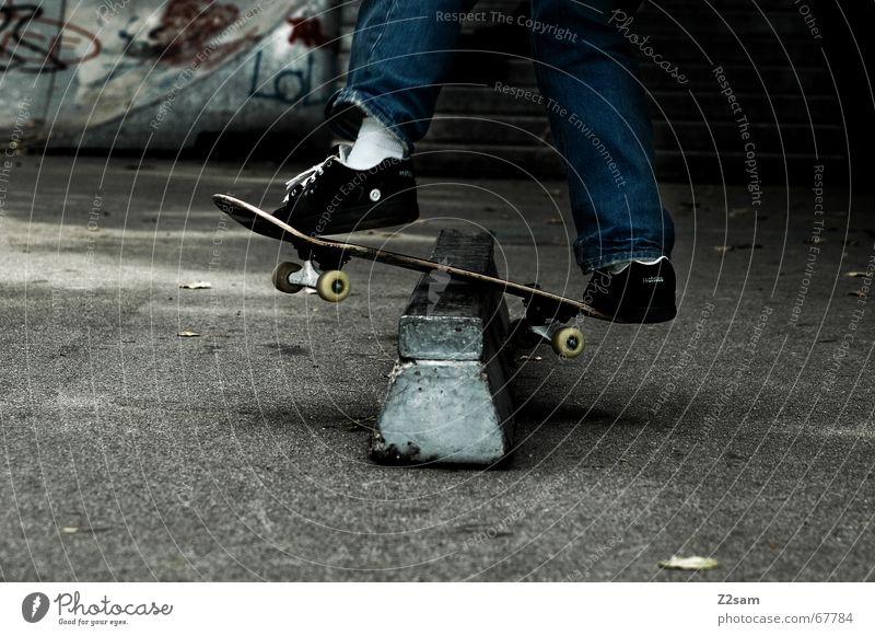 Sports Style Contentment Skateboarding Trick Funsport Parking level Stunt Boardslide