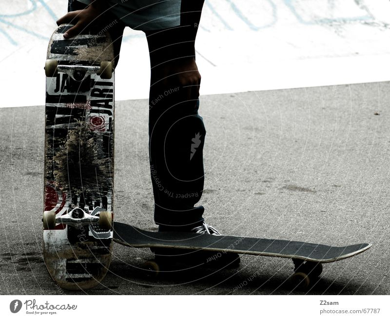 Sports Style Wait Cool (slang) Break Stand Skateboarding Easygoing Funsport Parking level