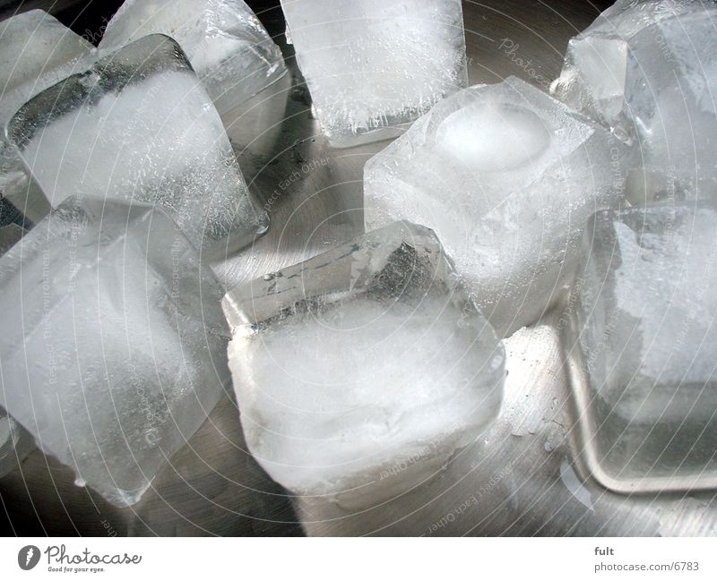 Water Nutrition Cold Ice Metal Ice cube