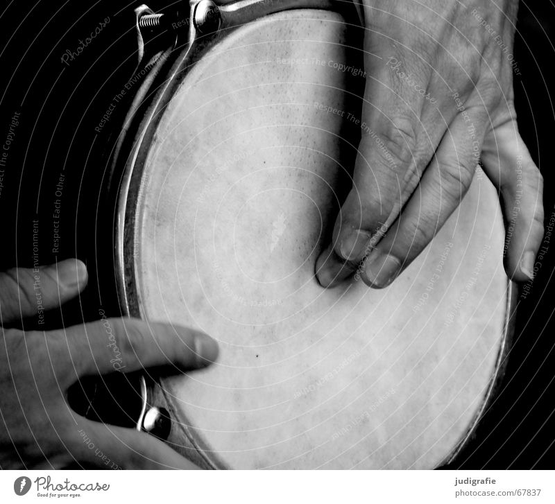 Sound 3 Percussion instrument Hand Fingers Man Beat Rhythm Black percussion Music Musical instrument Emotions