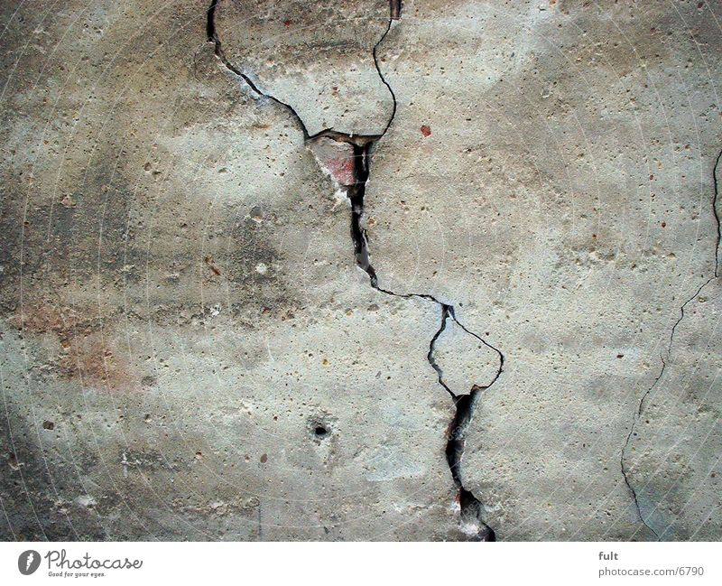 Wall (barrier) Architecture Broken Crack & Rip & Tear Plaster