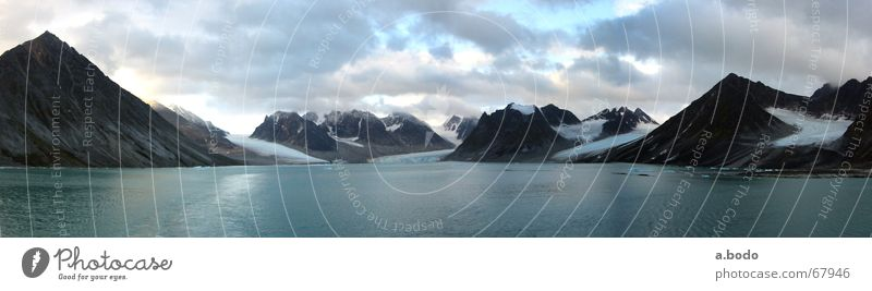 Ocean Summer Watercraft Norway North Arctic Ocean Spitzbergen