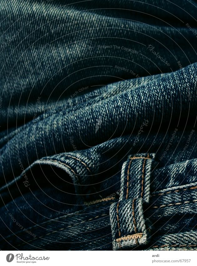 Waves Clothing Jeans Pants Wrinkles Bag Material Sewing thread Stitching Cotton
