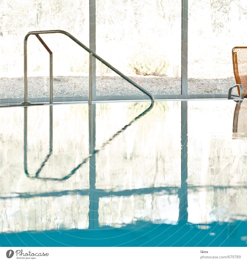 Vacation & Travel Water Relaxation Calm Life Swimming & Bathing Contentment Tourism Trip Swimming pool Handrail Wellness Serene Well-being Turquoise Harmonious