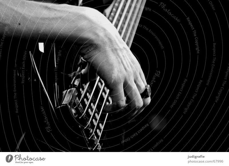 Man Hand Black Music Line Circle Concert Guitar Sound Musical instrument Musical instrument string Rhythm Electric bass Electric guitar String instrument