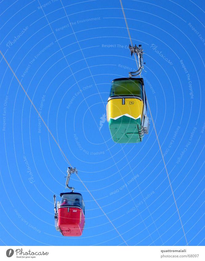Blue Masculine Switzerland Winter sports Gondola Cable car Grindelwald