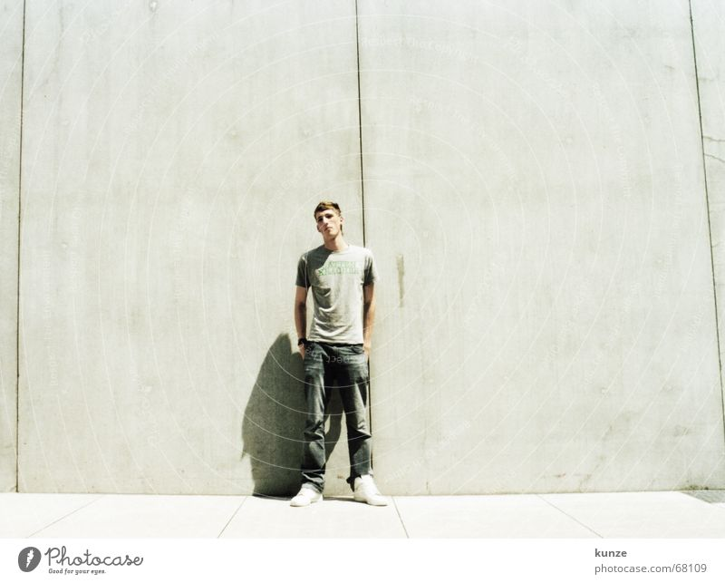 at the grain 2 Line Black Long Pants Wall (building) Concrete Physics Hot Analog continuous Column T-shirt dark air force daniel star jeans Tall Sun Bright