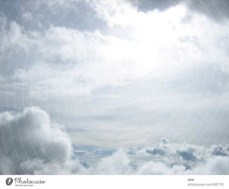 Sky Sun Vacation & Travel Clouds Far-off places Hiking Flying Doomed Hover Vail Cumulus