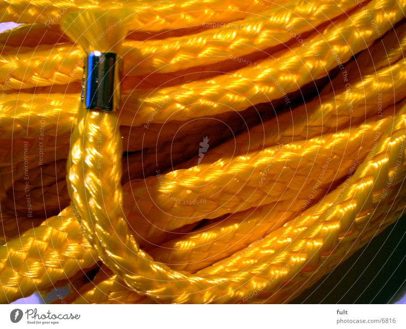 Yellow Rope Beginning End Things Cloth