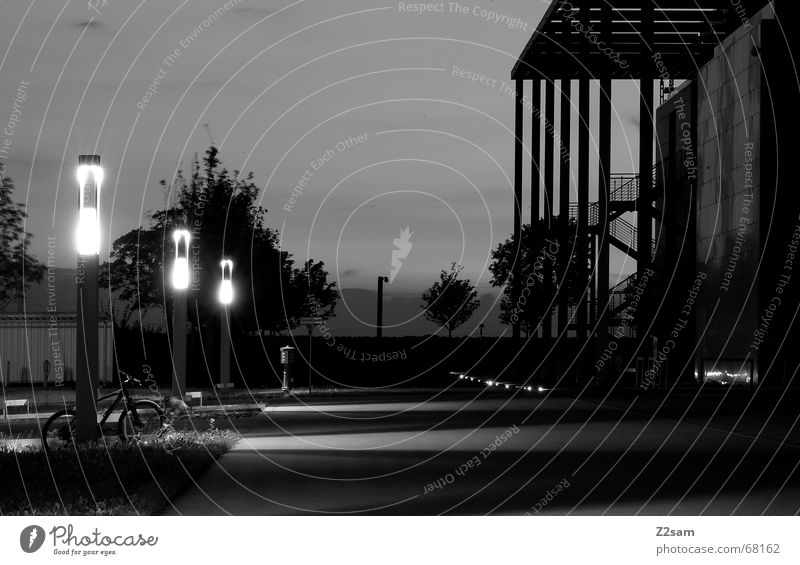 Street Architecture Lanes & trails Asphalt Lantern