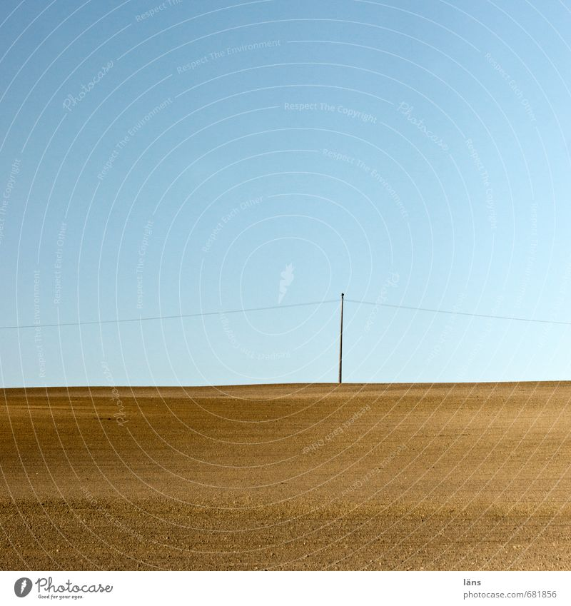 Just like that Environment Nature Landscape Elements Earth Air Sky Cloudless sky Horizon Beautiful weather Gloomy Blue Brown Beginning Effort Accuracy Naked