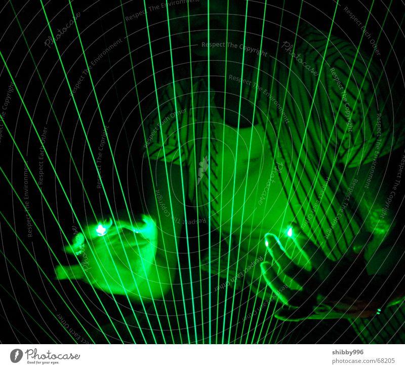 Green Lamp Music Dream Lighting Industrial Photography Laser