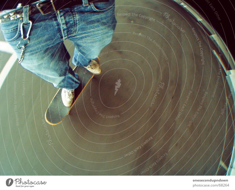 Joy Gray Concrete Speed Jeans Floor covering Skateboarding Parking garage Belt