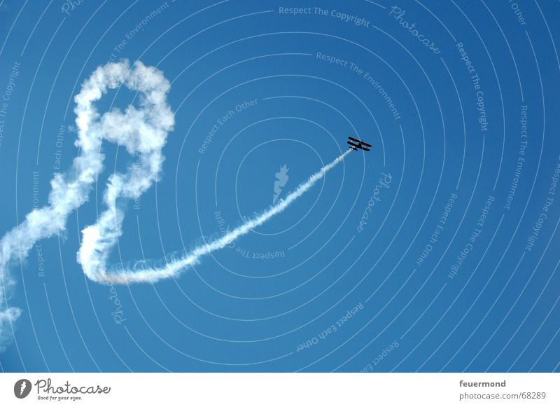 Sky Clouds Freedom Flying Airplane Tracks Formation Vapor trail Airfield Air show Above the clouds