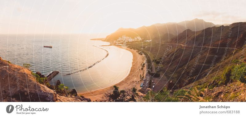 San Andrés / Tenerife VI Environment Nature Landscape Sand Sky Sun Beautiful weather Plant Mountain Ocean Atlantic Ocean Canaries Spain Contentment