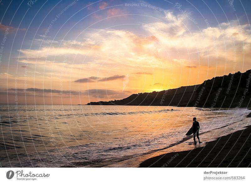 Sky Summer Sun Ocean Landscape Joy Beach Black Emotions Coast Happy Moody Leisure and hobbies Waves Tourism Climate