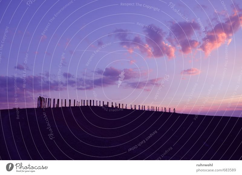 Sky Summer Sun Relaxation Landscape Clouds Black Emotions Sand Pink Air Earth Illuminate Hill Violet Landmark