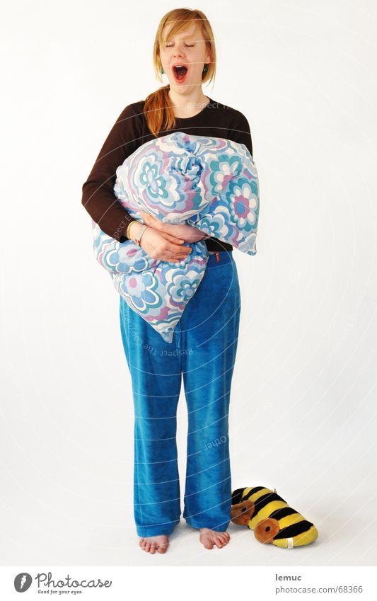 Woman Sleep Sweet Cushion Fatigue Wake up Pyjama Pillow