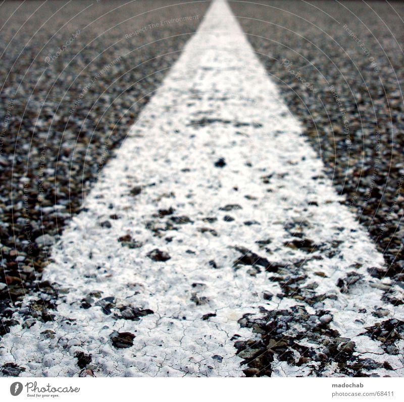White Street Movement Gray Lanes & trails Line Weather Beginning Corner End Target Asphalt Middle Direction Decline Progress