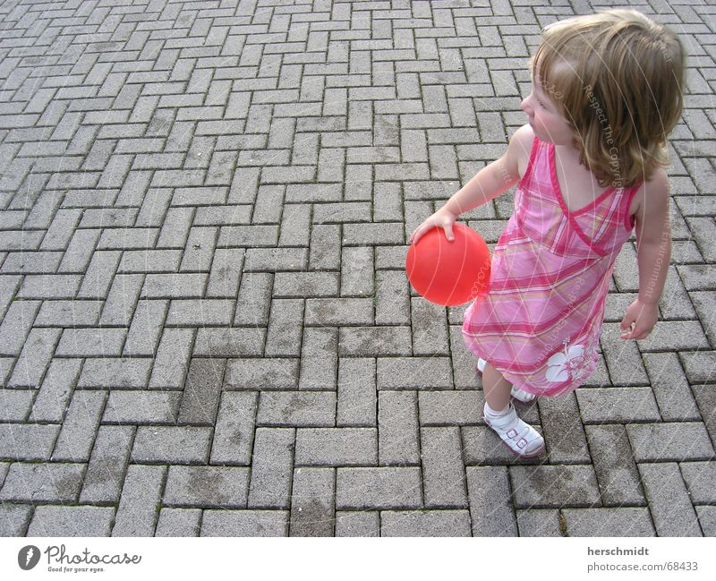 Girl Summer Playing Hair and hairstyles Gray Stone Footwear Small Sweet Balloon Dress Child Cobblestones Sandal