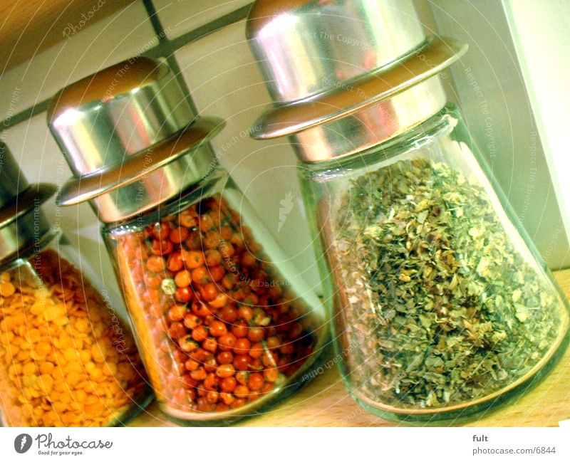 spices Herbs and spices Containers and vessels Kitchen Pepper Glass