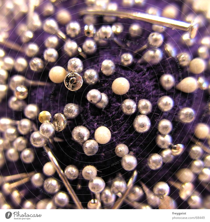 Work and employment Violet Pearl Nail Needle Tailor Sharp thing The Needles Pincushion