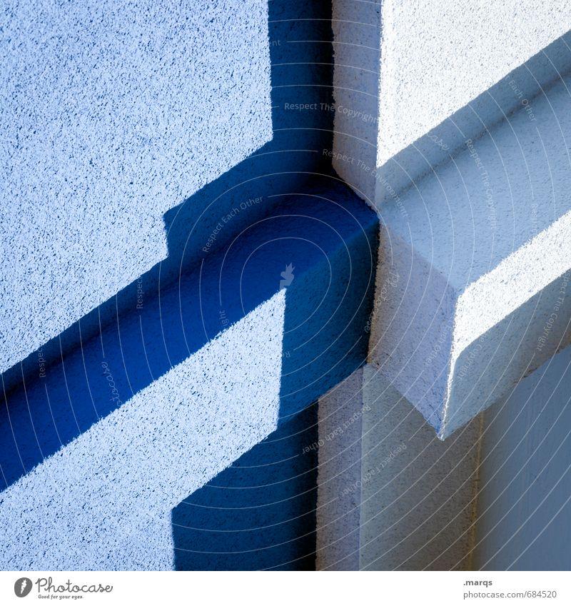 Blue Architecture Style Bright Facade Lifestyle Elegant Design Modern Crazy Illustration Hip & trendy Connection Irritation Sharp-edged Light blue