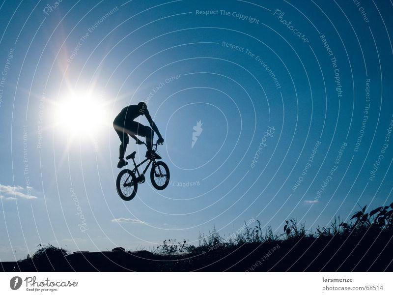 Sun Blue Sports Freedom BMX bike Extreme sports Dirt Jumping