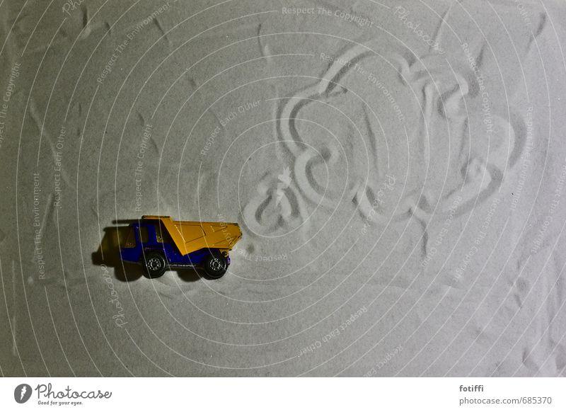 [100] bike bike bike Playing Driving Car Toys Toy car Orange Sand Zen Clouds Draw Fantasy Exhaust gas Environmental protection Environmental pollution Truck