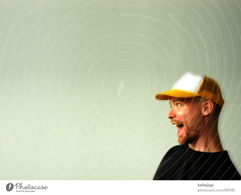 the martin III Happiness Baseball cap Portrait photograph Hi Martin Funny Laughter Head Human being happy it's... I'm so happy... photocase is great...