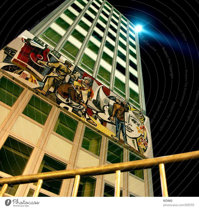 City Berlin Window High-rise Alexanderplatz