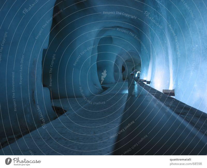 Ice Tunnel Glacier Cave Glacier ice