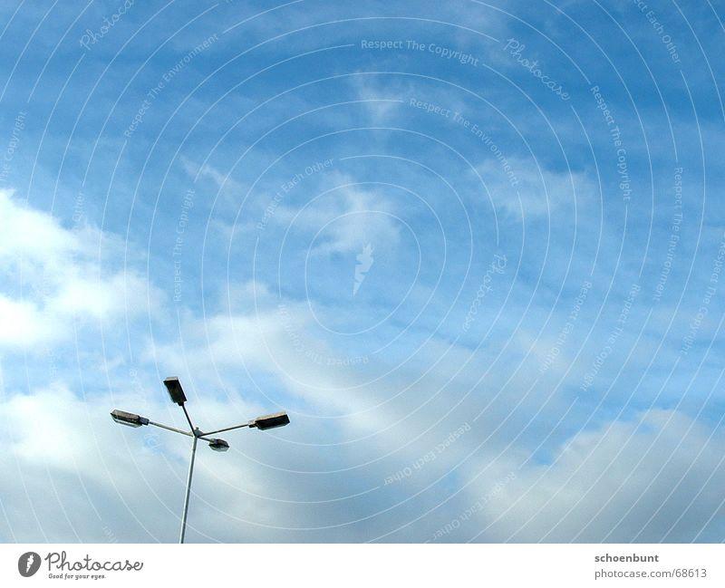Sky Clouds Lamp Freedom Lantern Parking lot Street lighting Detached