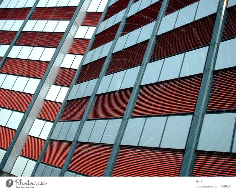 façade Facade House (Residential Structure) Red Architecture Mask