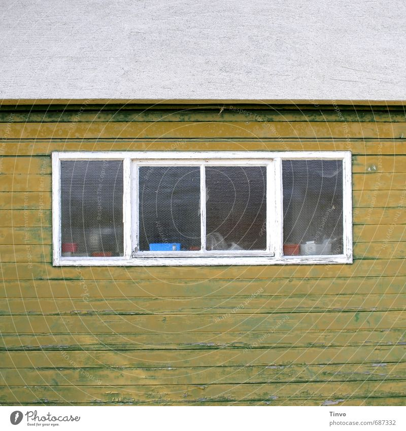 Trash! Mothballed! Hut Barn Facade Window Hideous Trashy Loneliness Unkempt Expressionless Wooden wall Winter festival Derelict Old Colour photo Exterior shot